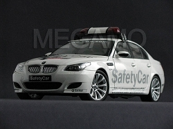 1/18 Kyosho BMW e60 M5 MOTO GP Safety Car White