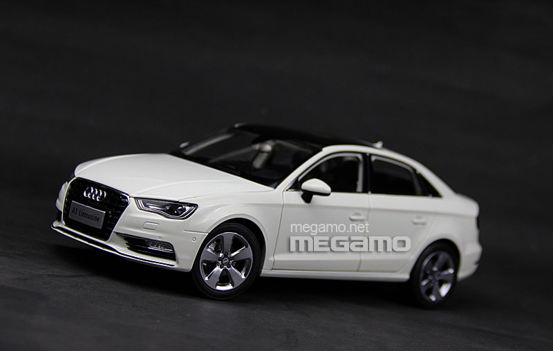 1 18 All New 2014 Audi A3 Limo Sedan White Faw Dealer