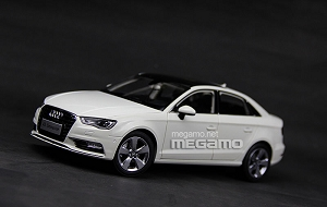 1/18 All New 2014 Audi A3 Limo Sedan White FAW Dealer