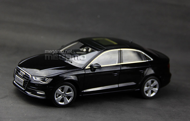 1 18 All New 2014 Audi A3 Limo Sedan Black Faw Dealer