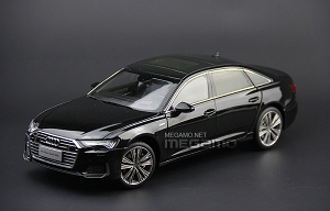 1/18 Audi 2019 All New A6L A6 L S-Line Black Diecast Full Open