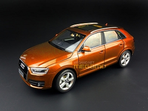 1/18 All New 2016 Audi Q3 Brown Orange Black FAW Dealer