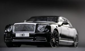 1/18 Almost Real Bentley Mulsanne W.O Edition by Mulliner 100 Years Ltd 2019 pcs Full Open Diecast