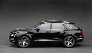 1/18 Kyosho Bentley BENTAYGA Prototype Sample Black (Onyx) 2016 08921NX