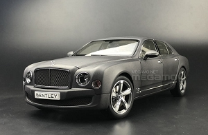 1/18 Kyosho Bentley Mulsanne Speed Matt Grey