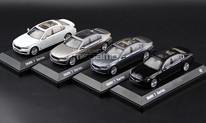 1/43 BMW NEW 7 SERIES G12 Open Hood and Trunk Free Shipping White Black Gold Gray