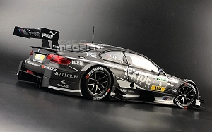1/18 Minichamps BMW e92 M3 DTM 2013 Team RBM #8 J.Hand Matte Grey EXIDE ltd 1002 pcs Free Shipping