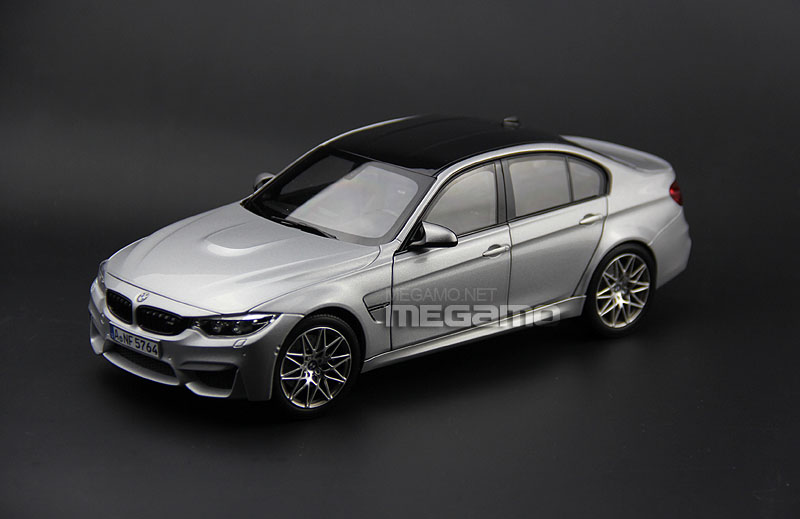 1 18 Norev Bmw F80 M3 Sedan 2017 Competition Edition Silver Diecast Full Open