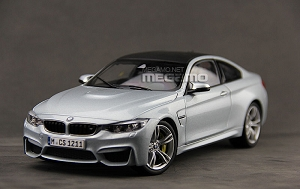 1/18 Paragon BMW F82 M4 Coupe Silver Stone w/ M6 19' Wheel Edition