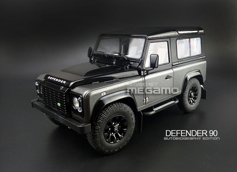 1 18 Kyosho Land Rover Defender 90 D90 Autobiography