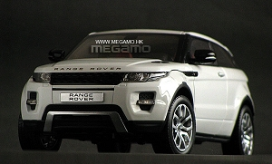 1/18 GT Autos GTA Land Rover Range Evoque Coupe 2 door Red, White, Green, Gray