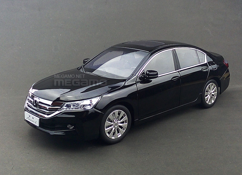 1 18 honda 2014 generation 9 accord black white cn dealer ed for Honda accord generations