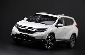 1/18 Honda CRV 2017 White Diecast Full Open