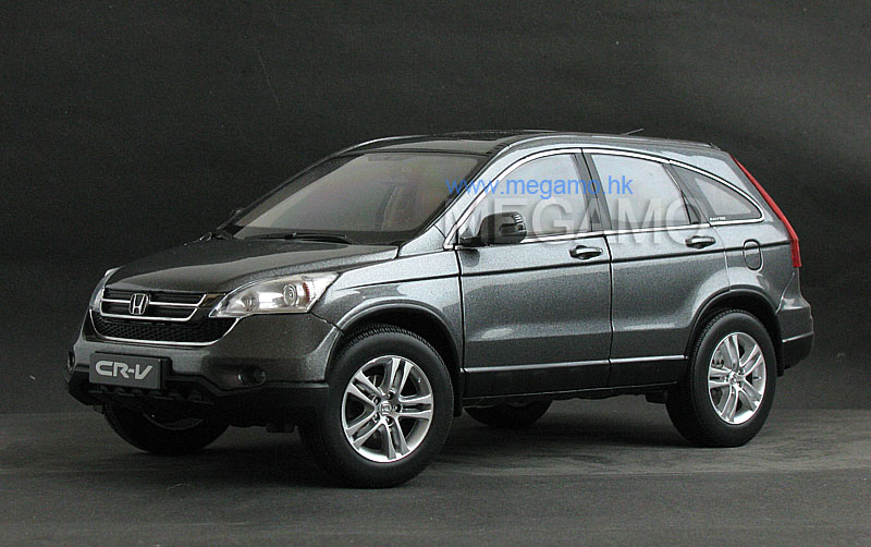 1 18 honda crv cr v grey gray cn dealer ed for Gray honda crv