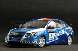 1/18 Chevrolet CRUZE WTCC 2010 #1 Winner Blue