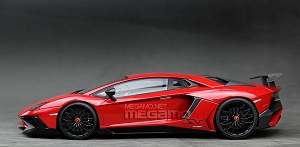 1/18 Kyosho Lamborghini Aventador LP750-4 SV Superveloce Red Closed Bodyshell