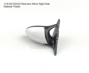 1/18 Kyosho BMW M3 spare parts for e90 e91 e92 e93 turning - Right Rearview Mirror