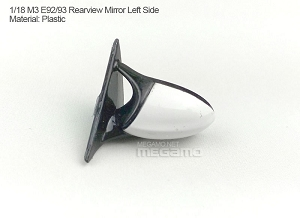 1/18 Kyosho BMW M3 spare parts for e90 e91 e92 e93 turning - Left Rearview Mirror