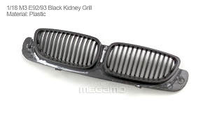1/18 Kyosho BMW M3 spare parts for e92 e93 turning - Kidney Grill
