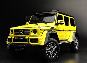 1/18 Almost Real Mercedes-Benz G500 G 500 4x4 Yellow Fully Open Diecast Model