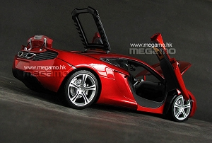 1/18 Minichamps McLaren MP4-12C Orange 2011 Ltd 2500 pcs