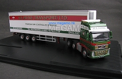 1/76 Oxford Volvo truck containler trailer