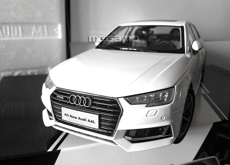ALL NEW Audi A L B China Long Wheelbase WHITE Dealer Edition - All white audi