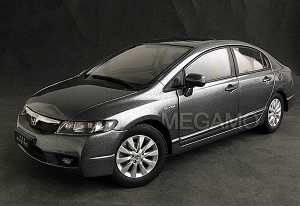 1/18 Honda Civic Dealer Ed Grey, White, Red, Black 2009