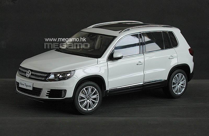 1 18 Volkswagen Vw Tiguan Facelift 2012 Cn Dealer White Gold
