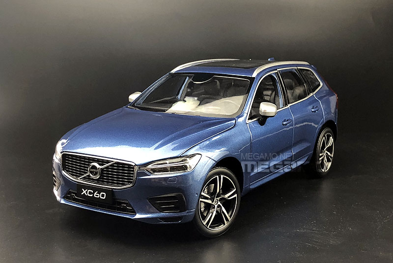 1 18 All New Volvo Xc60 2017 Blue Dealer Edition