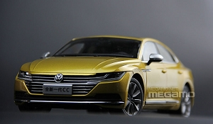 1/18 Volkswagen VW All New 2018 CC Gold White