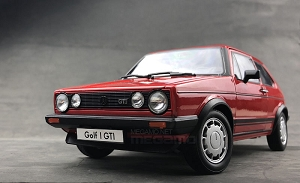 1/18 FX Volkswagen VW Golf GTI MK1 Red 1976