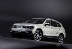 1/18 VW Volkswagen 2017 All New Tiguan L China Long wheelbase edition