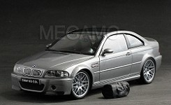 1/18 Kyosho BMW e46 M3 CSL Silver with Bag