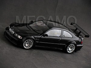 1 18 Minichamps Bmw E46 M3 Gtr Black Wide Body Version