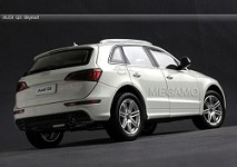 1/18 Audi Q5 Panorama Roof White CN Dealer Ed Double Rewards Points