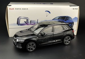 1/18 All New 2018 Audi Q5L Q5 L Black Diecast Fully Open