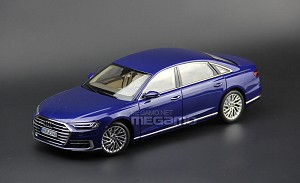 1/18 Norev 2017 All New AUDI A8L D5 4th Gen A8 L Blue