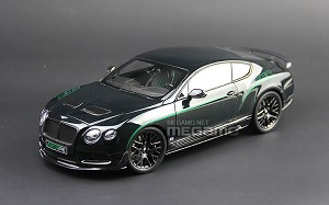 1/18 Almost Real AR Bentley Continental GT3-R 2015 White Green Diecast Full open