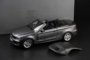 1/18 BMW Dealer e88 120i Cabrio Gray Kyosho N46 L4 Engine 2008