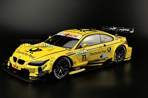 1/18 Minichamps BMW e92 M3 DTM 2013 Team Mtek #22 T.Glock Yellow Deutshe Post ltd 1002 pcs Free Shipping