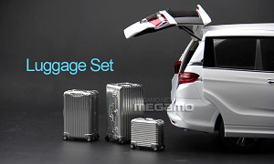 1/18 3 Luggage Set for AUTOart Kyosho Norev BBR GTA GT Spirit Minichamps