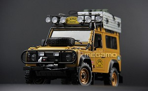 1/18 Almost Real Land Rover Defender 90, 110 Camel Trophy Full Open Diecast
