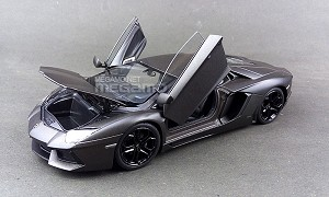 1/24 FX Lamborghini Aventador LP-700 Yellow, Green, Matte Black