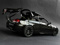 1/18 Kyosho BMW e93 M3 Convertible Black Working Hard Top with Black Rim