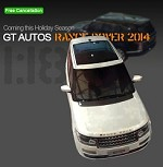1/18 GT AUTOS All New Range Rover 2014 L405 Black White