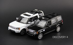1/24 Welly FX Land Rover Discovery 4 Black White Free Shipping