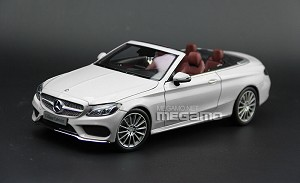 1/18 Mercedes-Benz C-Class Cabriolet A205 Black White Red Blue Silver 2017 i-Scale Kyosho