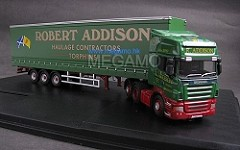 1/76 Oxford SCANIA truck containler trailer