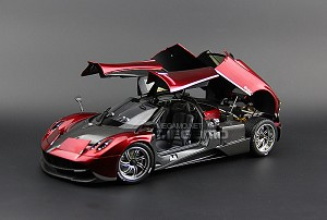 1/18 GT Autos GTA Pagani Huayra Met Red Special color setup for Transformer IV STINGER